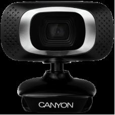 Camera Web Canyon CNE-CWC3, Full HD, Black/Silver