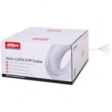 Accesoriu supraveghere Dahua Cablu UTP CAT6, Rola 305m
