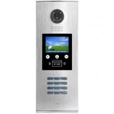Post exterior videointerfon V-tech DMR18S/ID-F, Ecran TFT 3.5 inch, Camera color, Cititor ID si/sau tag