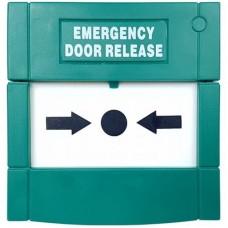 Accesoriu control acces PXW Buton exit DRB2P, Plastic, Resetabil, 2 poli
