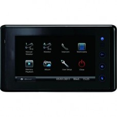 Monitor videointerfon V-tech DT27 touch,  Compatibil   seria DT , display TFT color 7 inch,  conexiune 2 fire,  negru