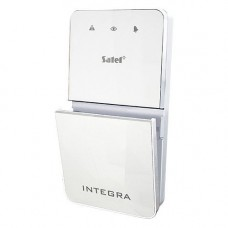 Tastatura alarma Satel INT-SF-WSW, Pentru partitii, Compatibila INTEGRA, Alb