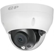 Camera de supraveghere Dahua EZ-IP IPC-D2B20, Dome, 2MP, CMOS 1/2.7'', 2.8mm, 1 LED, IR 30m, H.265+, IP67, PoE, Carcasa plastic