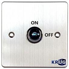 Accesoriu control acces KrugTechnik KKS886KD, Buton iesire cu cheie