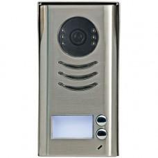 Post exterior videointerfon V-tech DT592/C/RH, metalic aplicat, doua familii