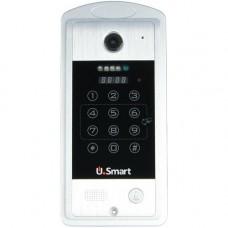 Post exterior videointerfon U.Smart VDPIP01, Deblocare prin ID card si parola