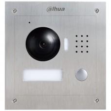 Post exterior videointerfon Dahua VTO2000A, Camera HD 1.3MP, 1 buton acces, IP54, IK07