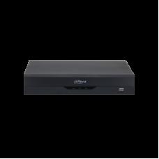 DVR Dahua WizSense Pentabrid, XVR5104HS-I2, HDCVI/AHD/TVI/CVBS/IP, 4 canale, H.265+, 4+2 IP max. 6MP, 32Mbps, 1xHDD, Protectie Perimetrala, SMD Plus