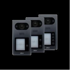 Videointerfon de exterior IP Dahua VTO3211D-P2, 2 MP, 2 familii, aparent